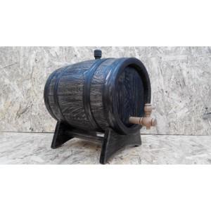 Бочка дубовая 10 литров Кавказский дуб, под старину, обработка воском