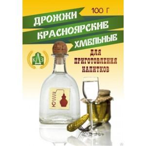 """Спиртовые дрожжи Красноярские """"Хмельные"""" 100 грамм"""