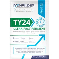 Спиртовые турбо дрожжи Pathfinder 24 Ultra Fast Ferment, 205 грамм