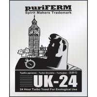 Спиртовые турбо дрожжи Puriferm UK-24
