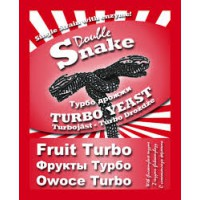 Спиртовые турбо дрожжи DoubleSnake Fruit, 49 грамм