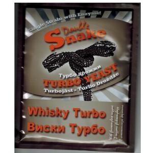 Спиртовые турбо дрожжи DoubleSnake Whisky, 70 грамм