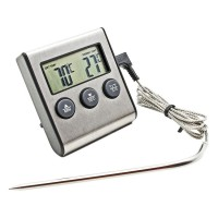 Термометр электронный с выносным щупом и звуковым оповещением