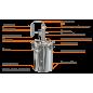 """Автоклав-дистиллятор """"Элегант"""", 17 литров"""