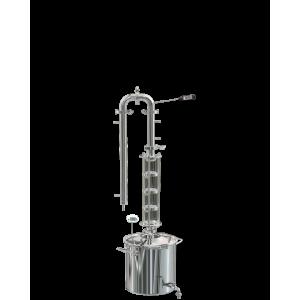 """Универсальная система """"Сириус"""", с новым ПК и колпачковой колонной (3 тарелки), 20 литров"""