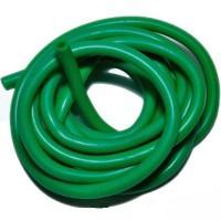 Шланг силиконовый 10 мм, зеленый