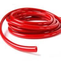 Шланг силиконовый 10 мм, красный