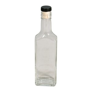 "Бутылка ""Ива"" 0,25 литра, с пробкой"