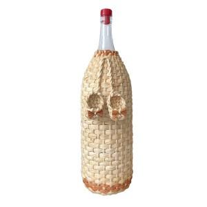 """Бутылка """"Четверть"""" 3 литра,  декорированная"""