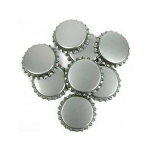 Кронен-пробки для стеклянных бутылок, (серебро), 100шт