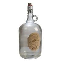 """Бутылка """"Венеция"""" 2 литра, с бугельной пробкой с этикеткой """"Наливка"""""""