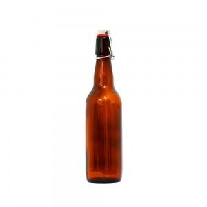 """Бутылка пивная """"Браун"""" с бугелем, 0,75 л."""